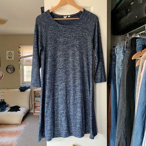 Gap blue swing dress size medium